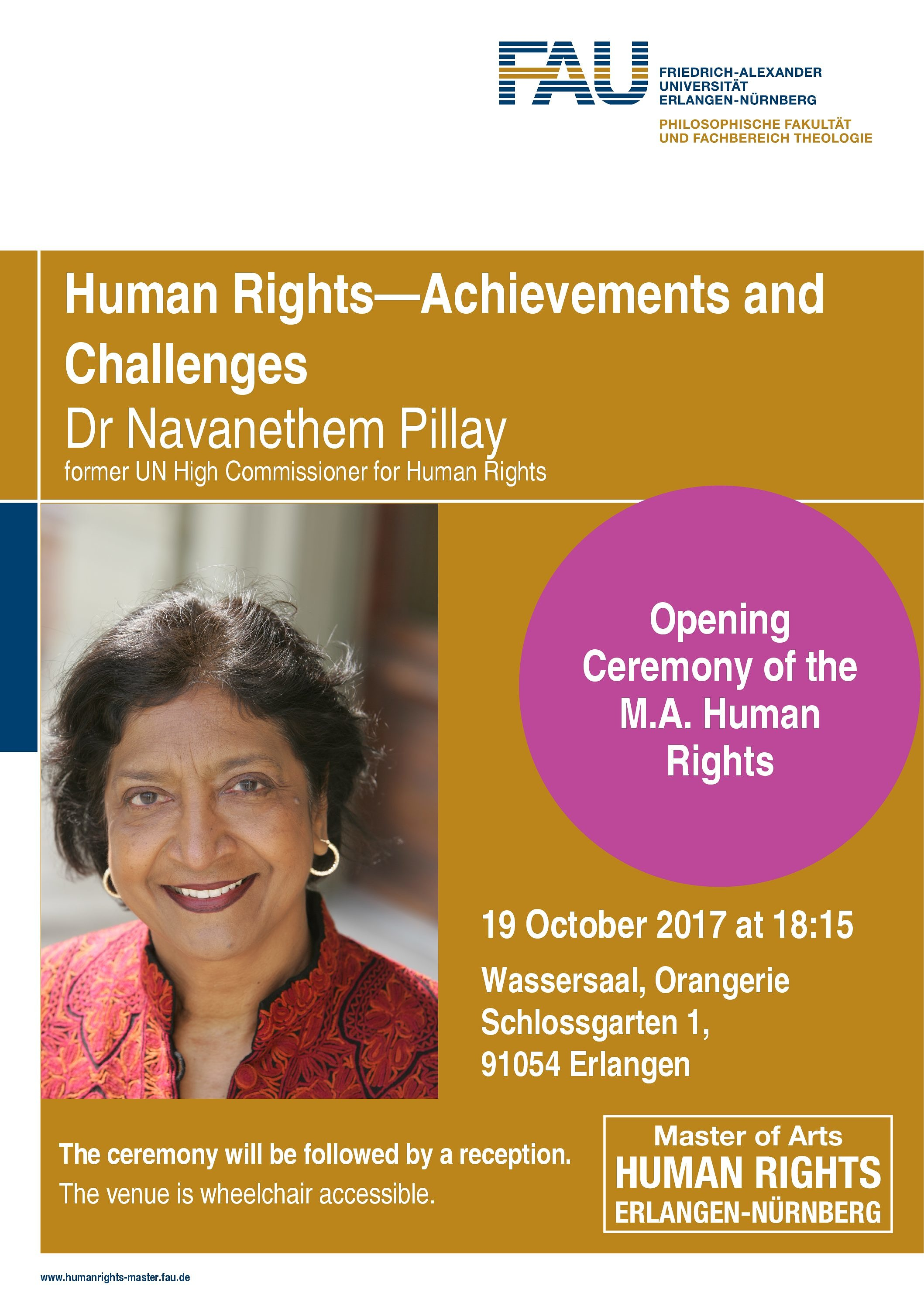 "Go to article ""Opening ceremony with Navi Pillay"""