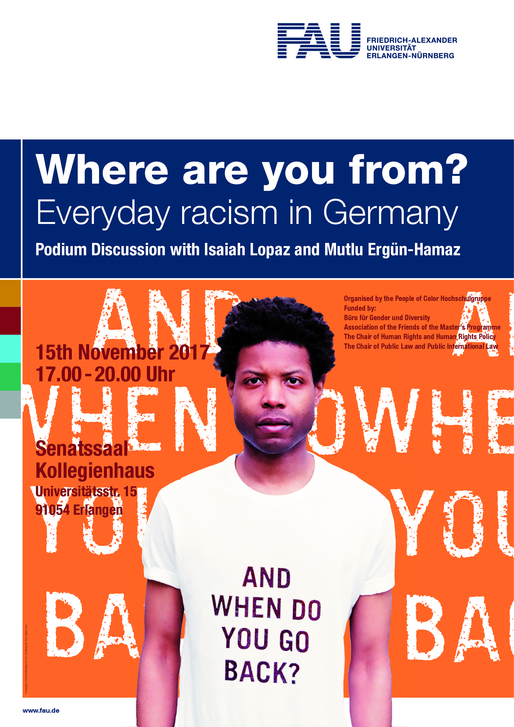 "Go to article ""Where are you from? Podium discussion on everyday racism in Germany"""