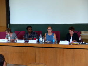 Panel at the Symposium on Gender and Peacebuilding and Transitional Justice