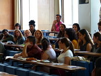 Picture of the Audience of the Symposium on Gender and Peacebuilding and Transitional Justice