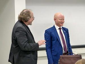 Picture of Prof. Bielefeldt and Dr. Possi